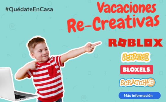 Vacaciones Re-Creativas.  Receso escolar octubre 2020